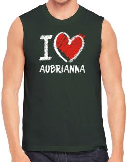 I love Aubrianna chalk style Sleeveless