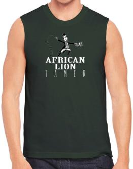 African Lion tamer 2 Sleeveless