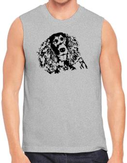 American Water Spaniel Face Special Graphic Sleeveless