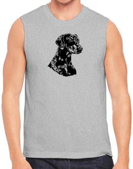 Doberman Pinscher Face Special Graphic Sleeveless