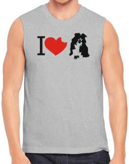 I love Australian Shepherds Sleeveless