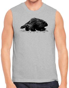 American Porcupine sketch Sleeveless
