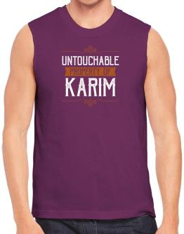 Untouchable property of Karim Sleeveless