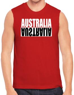 Australia - Negative Sleeveless