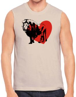 African Lion lover Sleeveless