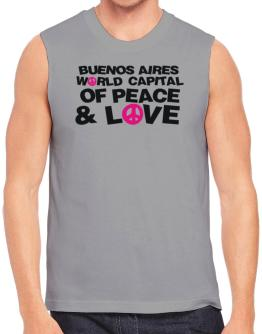 Buenos Aires World Capital Of Peace And Love Sleeveless
