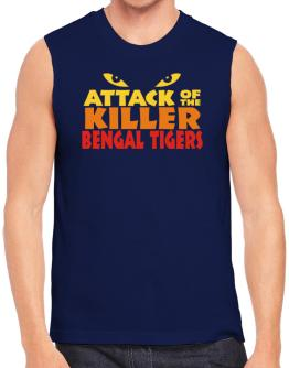 Attack Of The Killer Bengal Tigers Sleeveless