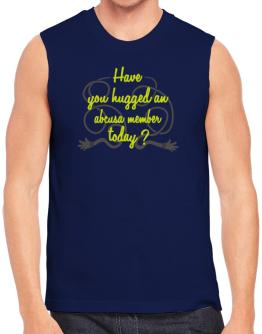 Have You Hugged An Abcusa Member Today? Sleeveless