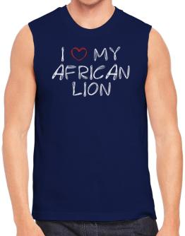 I love my African Lion Sleeveless