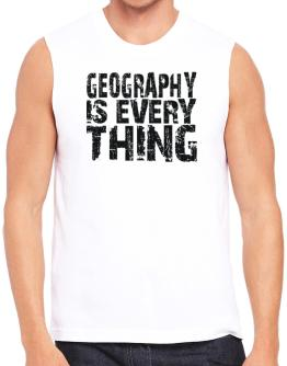 Geography Is Everything Sleeveless