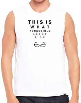 This Is What Accessible Looks Like Sleeveless