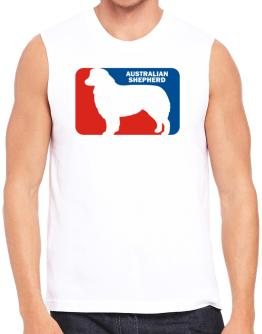 Australian Shepherd Sports Logo Sleeveless