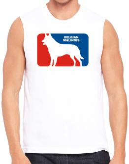 Belgian Malinois Sports Logo Sleeveless