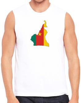 Cameroon - Country Map Color Simple Sleeveless