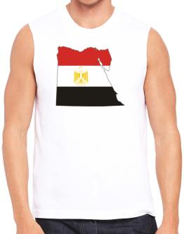 Egypt - Country Map Color Simple Sleeveless