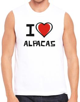 I Love Alpacas Sleeveless
