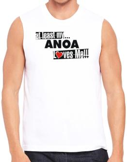 At Least My Anoa Loves Me ! Sleeveless