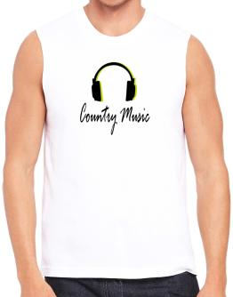 Polo Sin Mangas de Listen Country Music