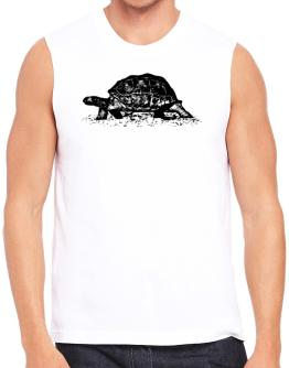 Aldabra Giant Tortoise sketch Sleeveless
