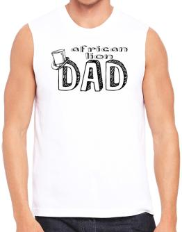 African Lion dad Sleeveless