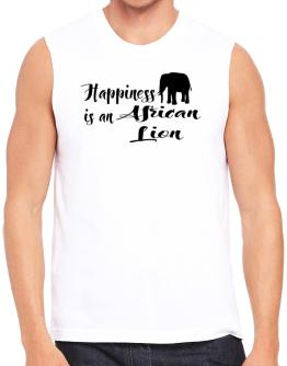 Happiness is a African Lion Sleeveless