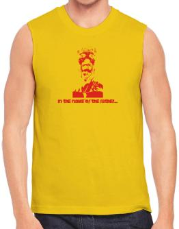 """"""" In the name of the father... - Jesus """" Sleeveless"""