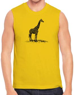 Giraffe sketch Sleeveless