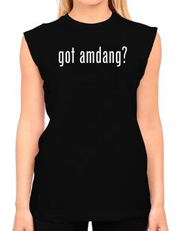 Got Amdang? T-Shirt - Sleeveless-Womens