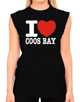 I Love Coos Bay T-Shirt - Sleeveless-Womens