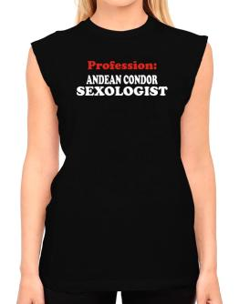 Profession: Andean Condor Sexologist T-Shirt - Sleeveless-Womens
