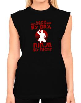 Hand Engraver By Day, Ninja By Night T-Shirt - Sleeveless-Womens