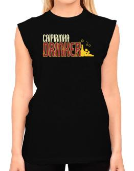 Caipirinha Drinker T-Shirt - Sleeveless-Womens