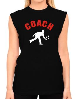 Triathlon Coach T-Shirt - Sleeveless-Womens