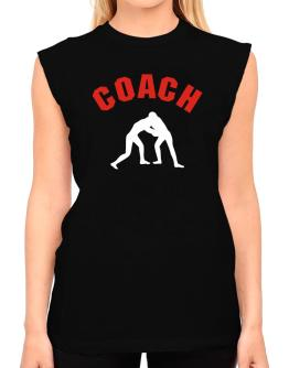 Wrestling Coach T-Shirt - Sleeveless-Womens