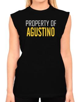 Property Of Agustino T-Shirt - Sleeveless-Womens