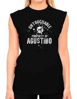 Untouchable : Property Of Agustino T-Shirt - Sleeveless-Womens