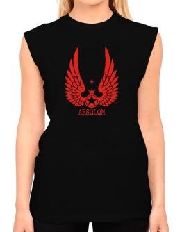 Absolom - Wings T-Shirt - Sleeveless-Womens