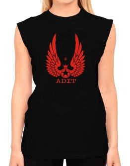 Adit - Wings T-Shirt - Sleeveless-Womens