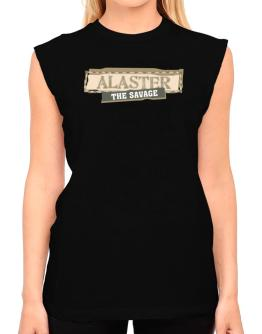 Alaster The Savage T-Shirt - Sleeveless-Womens