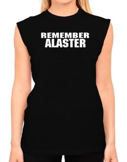 Remember Alaster T-Shirt - Sleeveless-Womens
