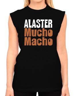 Alaster Mucho Macho T-Shirt - Sleeveless-Womens