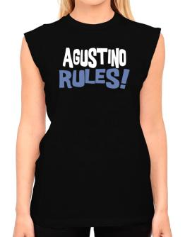 Agustino Rules! T-Shirt - Sleeveless-Womens