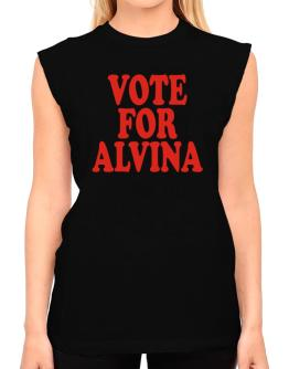 Vote For Alvina T-Shirt - Sleeveless-Womens