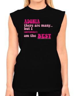 Adonia There Are Many... But I (obviously!) Am The Best T-Shirt - Sleeveless-Womens