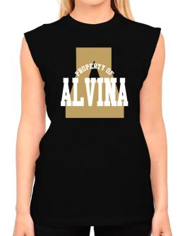 Property Of Alvina T-Shirt - Sleeveless-Womens