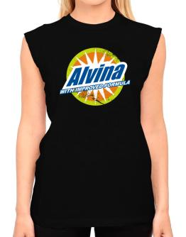 Alvina - With Improved Formula T-Shirt - Sleeveless-Womens