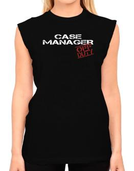 Case Manager - Off Duty T-Shirt - Sleeveless-Womens