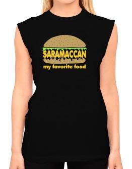 Saramaccan My Favorite Food T-Shirt - Sleeveless-Womens