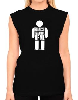 Saramaccan Is A Piece Of Me T-Shirt - Sleeveless-Womens