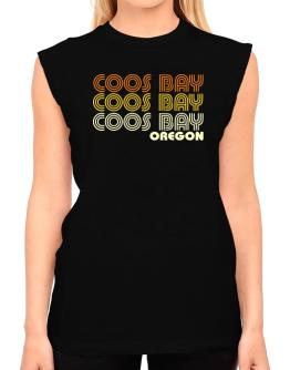 Coos Bay State T-Shirt - Sleeveless-Womens